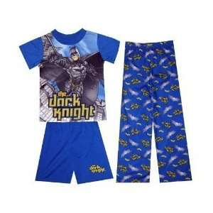 Batman Pajamas/Batman 3 Piece Sleepwear/Shirt/Top/Pants