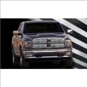 SES Trims Chrome Billet Upper Grille 09 10 Dodge Ram 1500 Automotive
