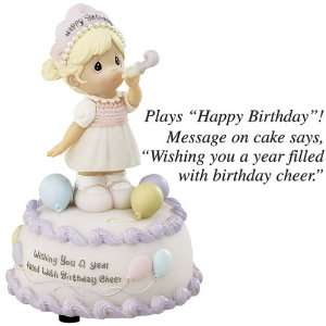 Precious Moments Birthday Cheer Musical Figure