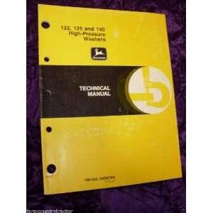 John Deere 122/125/140 Pressure Washers OEM Service Manual
