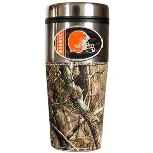 Browns Realtree Camo Travel Coffee Mug:  Sports & Outdoors