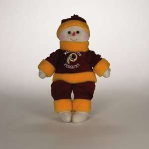 22 NFL Washington Redskins Plush Snowman Snowflake Friend