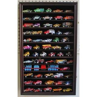 Hot Wheels Matchbox 1/64 scale Diecast Display Case Cabinet Wall Rack