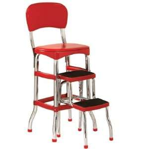 Cosco 11 120cby1 Retro Chair Step Stool Yellow