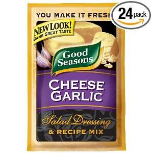 Kraft Good Seasons Salad Dressing & Recipe Mix, Cheese Garlic, 0.65