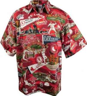 St. Louis Cardinals Hawaiian Shirt Clothing