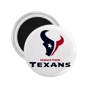 Houston Texans NFL Logo Souvenir Magnet 2.25 Free