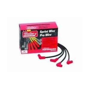 Pro Wire Universal Spark Plug Wire Kit 8mm 90 deg. Boots 8
