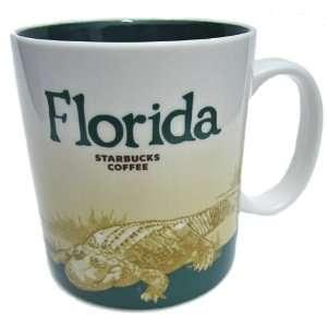 Starbucks Coffee City Mug Collection  Florida, 16 Oz Cup
