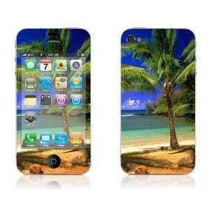 Paradise in Hand   iPhone 4/4S Protective Skin Decal