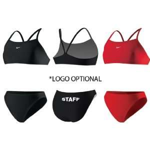 NIKE Core Solids   Sport Top 2pc  Lifeguard Swimsuit: