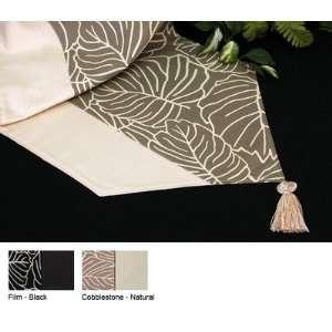 Tropical Reversible Table Runner Color Cobblestone