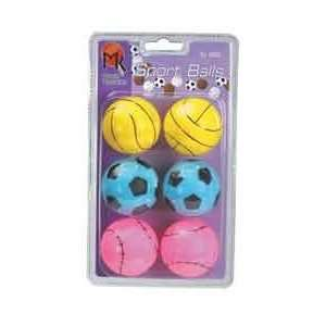 Butterfly MK Sport Multi Colored Table Tennis Balls