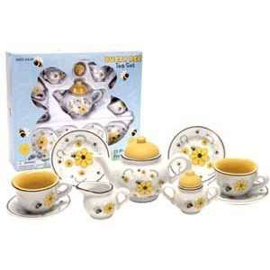 Schylling Busy Bee Tea Set  Toys & Games