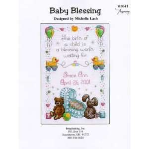 Baby Blessing (teddy bears 1641) Arts, Crafts & Sewing