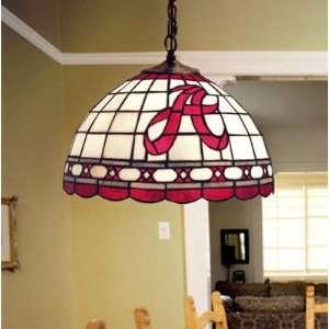 Alabama Crimson Tide Tiffany Hanging Lamp  Sports