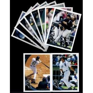 2010 Topps Chicago White Sox Series 1 Team Set   10 Cards