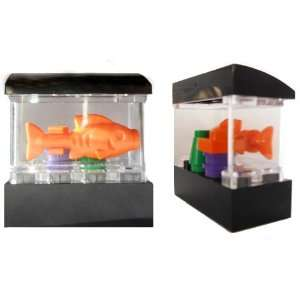 LEGO Fish Aquarium Tank Mini figure Accessory (Rare) Toys & Games