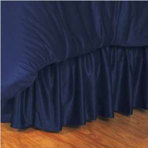 ILLINOIS ILLINI LR Bedskirt   Twin, Full or Queen