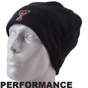 Under Armour Texas Tech Red Raiders Black Arctic Performance Beanie