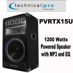 Powered Full Range USB Speaker w/ Power Output Musical Instruments