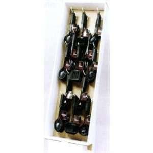 144 Pc Black Nylon Utensil Display Case Pack 144   442387