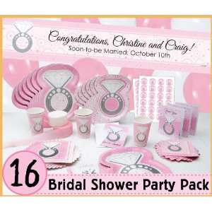 With This Ring   16 Bridal Shower Party Pack: Toys & Games