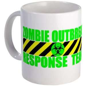 Zombie Outbreak Response Team Humor Mug by