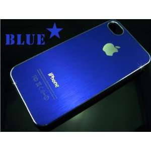 Blue Ultra Thin Rubber Matte Hard Case Cover for Iphone 4s