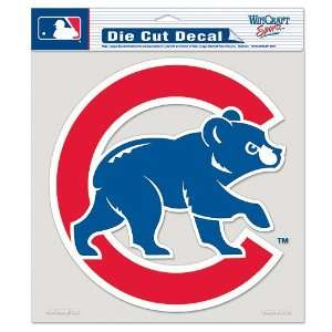 Chicago Cubs 8 x 8 Die Cut Decal by Wincraft