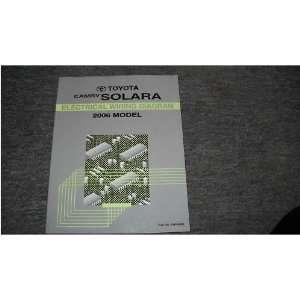 2006 Toyota Camry Solara Electrical Service Manual EWD