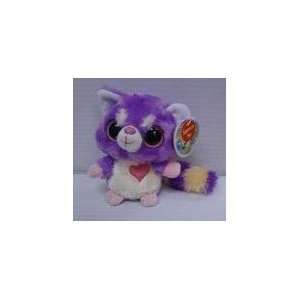 Aurora 5 Plush YooHoo LESSER PANDA Smooch Heart Glows