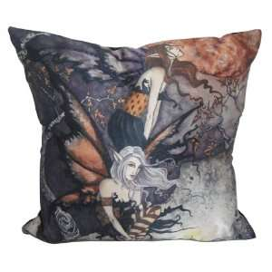 Night Flyers Fairy Pillow by Amy Brown 14 1/2 x 14 1/2