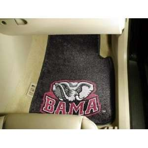 Alabama Crimson Tide Logo Carpet Car/Truck/Auto Floor Mats