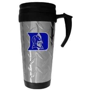 Duke Blue Devils NCAA Diamond Plate Travel Mug Sports