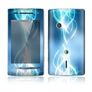 Electric Tribal Design Protective Skin Decal Sticker for Sony Ericsson