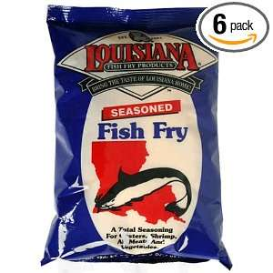La Fish Fry, Fish Fry Seasoning, 22 Ounce (Pack of 6):