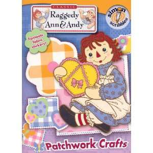 Raggedy Ann & Andy Patchwork Crafts & Coloring Book  Toys & Games