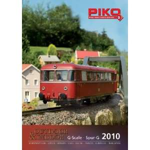 PIKO 2010 G SCALE CATALOG   PIKO G SCALE MODEL TRAINS AND