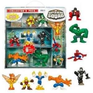 Marvel Super Hero Squad Collectors Pack   8 Figure Variant