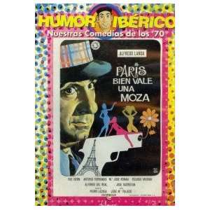 ALFREDO LANDA  PARIS BIEN VALE UNA MOZA PAL DVD Non USA Format, Pal