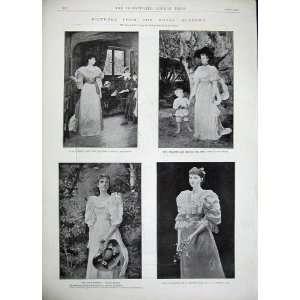 1894 Portrait Mr Robinson Royal Academy Art Beaumont Home