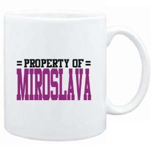 Mug White  Property of Miroslava  Female Names