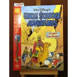 Uncle Scrooge Adventures Uncle Scrooge McDuck #19: The Mines of King