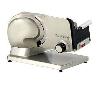 Chefs Choice 615 Electric Food Slicer   QVC