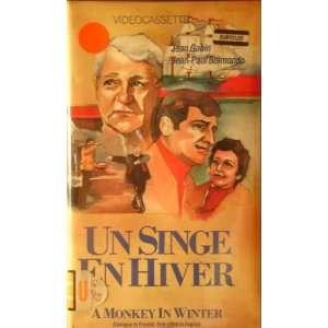 Un Singe En Hiver [VHS]: Louis Page, Henri Verneuil