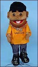 Boy Puppet Football Full Body Glove Sunny Puppets 14 NWT