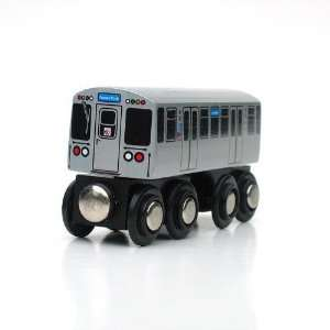 Chicago L CTA Blue Line Train Toys & Games
