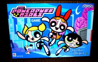 POWERPUFF GIRLS BOARD GAME 2000 MILTON BRADLEY GAMES TOYS COLLECTIBLES