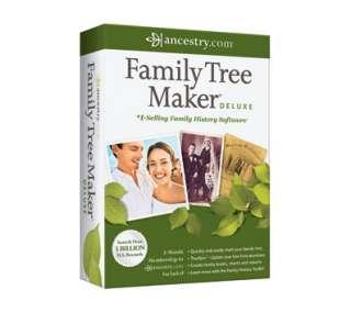 Nova Family Tree Maker Deluxe